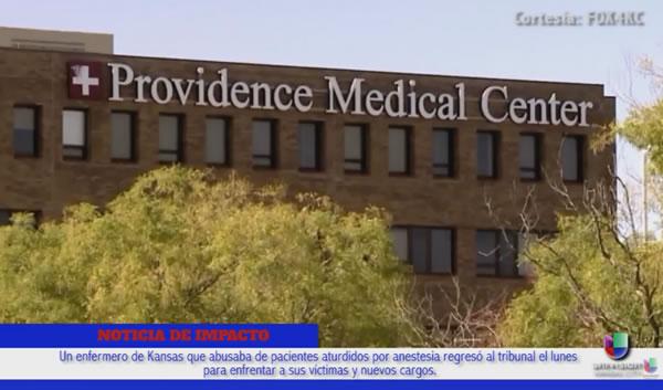 Acusado enfermero de Kansas que abusaba sexualmente de pacientes