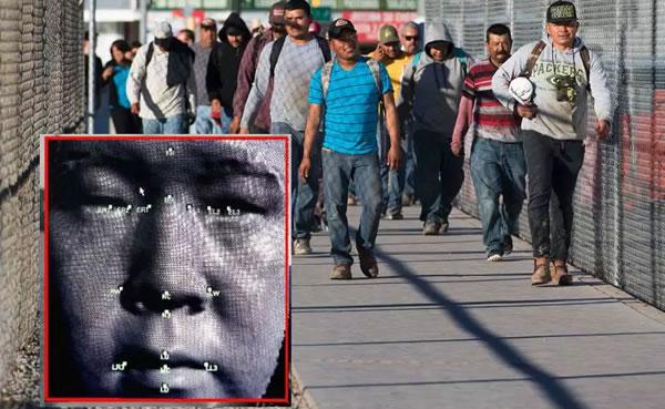 Inicia comparación facial de inmigrantes en cruce peatonal de la frontera
