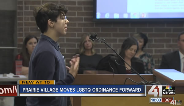 Avances de ordenanzas de no discriminación en Prairie Village