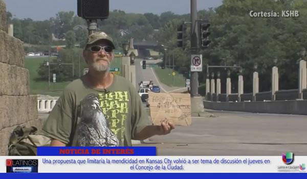 Una propuesta limitaría la mendicidad en Kansas City
