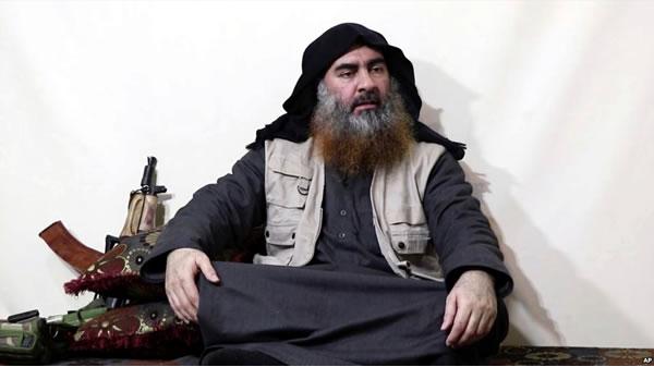 Líder de ISIS reaparece, reclama ataque de Sri Lanka como venganza por Siria
