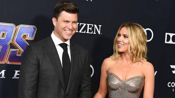 Luego de dos años de romance, Scarlett Johansson y Colin Jost