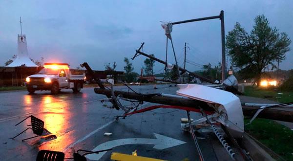 Tornado en missouri