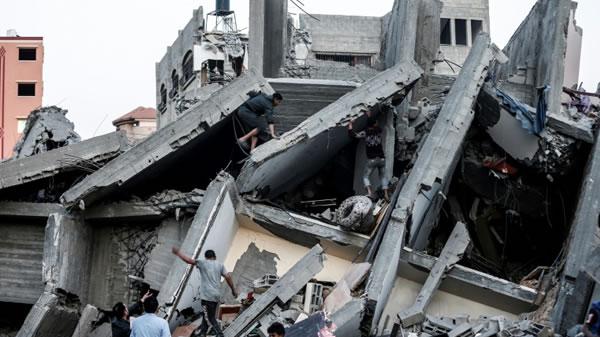 Los palestinos anuncian un alto el fuego para poner fin a la violencia con Israel