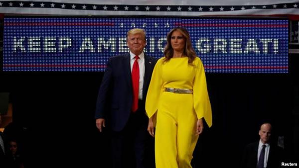 """Trump por la reelección 2020: """"Seguiremos haciendo grande EE.UU. de nuevo"""""""