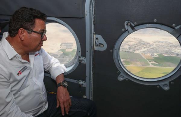 Muere el ministro de Defensa de Perú, José Huerta Torres