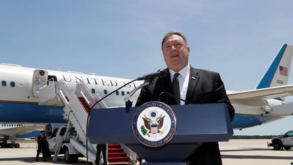 Pompeo viaja a Arabia Saudita y Emiratos por crisis con Irán