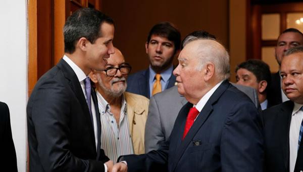 Venezuela: Enviado de la Unión Europea se reúne con Guaidó