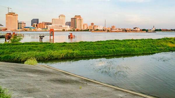 Tormentas amenazan diques de Nueva Orleáns