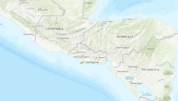 Fuerte sismo sacude el sur de El Salvador