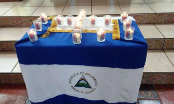 Nicaragua: Policía asedia misa en memoria de asesinados en Carazo