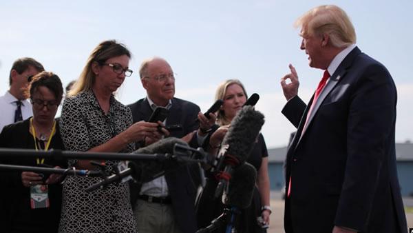 Trump: La guerra comercial con China será corta