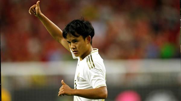 El Real Madrid cede al Mallorca al prodigio japonés Kubo