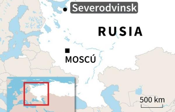 Dos muertos por una explosión en una base de misiles en Rusia