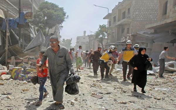 El régimen sirio permitirá a los civiles salir de la provincia de Idlib