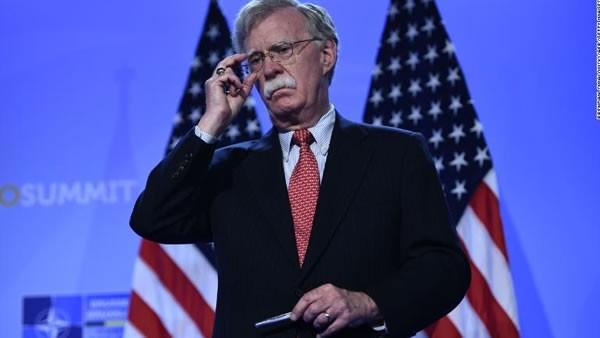 Donald Trump despidió al asesor de Seguridad Nacional John Bolton