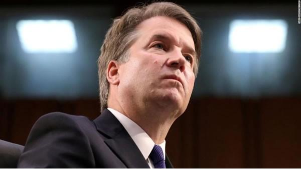 Trump dice que su Departamento de Justicia debería 'rescatar' a Brett Kavanaugh