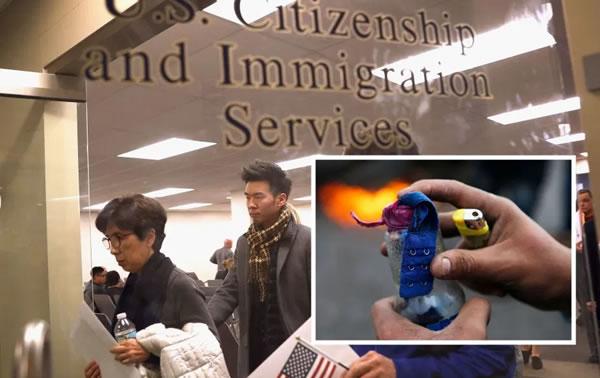 Mujer ataca oficina de inmigración en medio de grandes cambios de Trump en esta materia