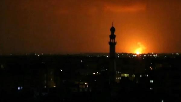 Israel bombardea objetivos de Hamás en Gaza