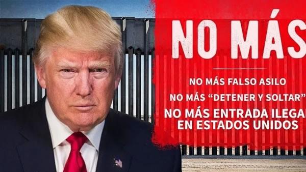Trump ataca a los inmigrantes hispanos antes de visitar muro fronterizo