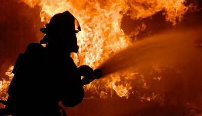 incendio en un apartamento en Clinton