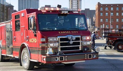 incendio en una casa en Kansas City