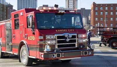 incendio en una casa en Kansas City
