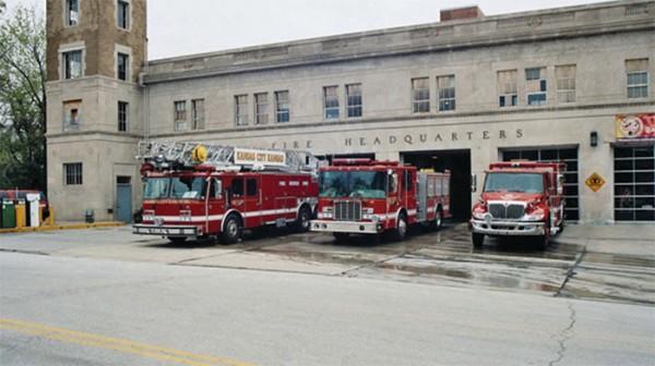 incendio en North Mill Street en KCK
