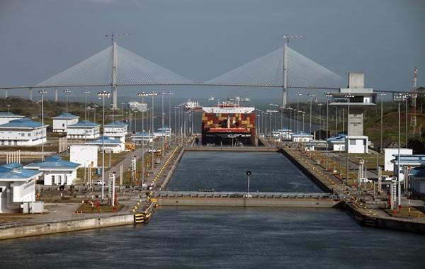 El Canal de Panamá se está quedando sin agua