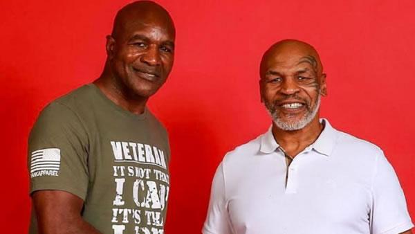 """""""¡Sería increíble!"""": A Mike Tyson le gustaría que la tercera pelea contra Evander Holyfield fuera por caridad"""