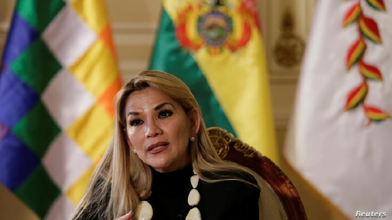 """Áñez: """"Hoy dejo de lado mi candidatura a la presidencia"""""""