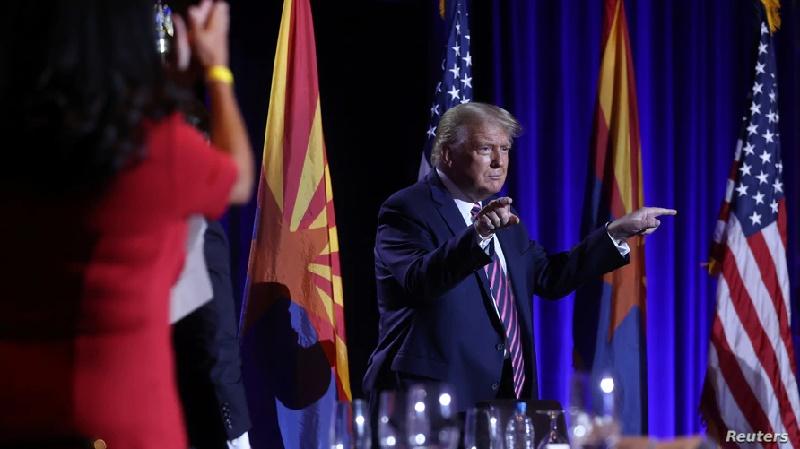 """Trump: """"Los hispano-estadounidenses representan el sueño americano"""""""