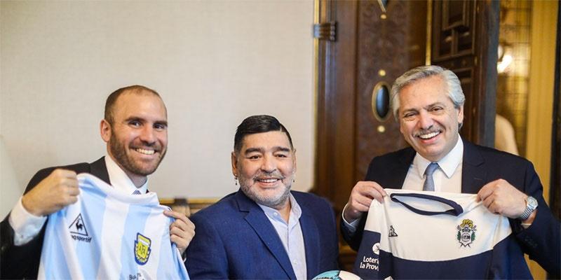 Falleció el ex futbolista Diego Maradona