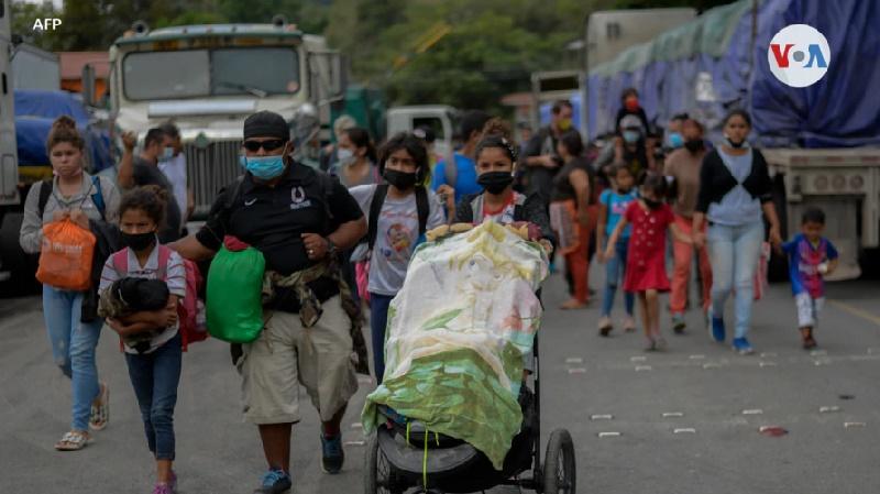 Guatemala quiere evitar más caravanas desde el Triángulo Norte hacia EE.UU.