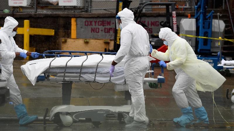 Estados Unidos superó el medio millón de muertos por COVID-19, el país con más decesos del mundo