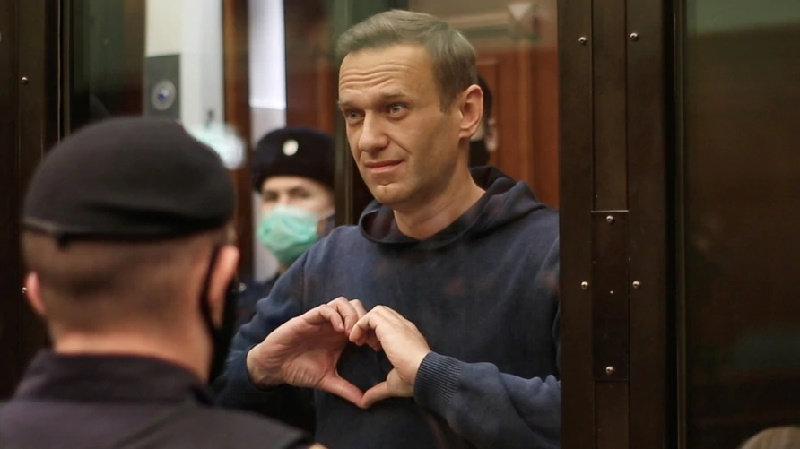Tribunal europeo de DD.HH. reclama a Rusia la liberación de Alexei Navalny
