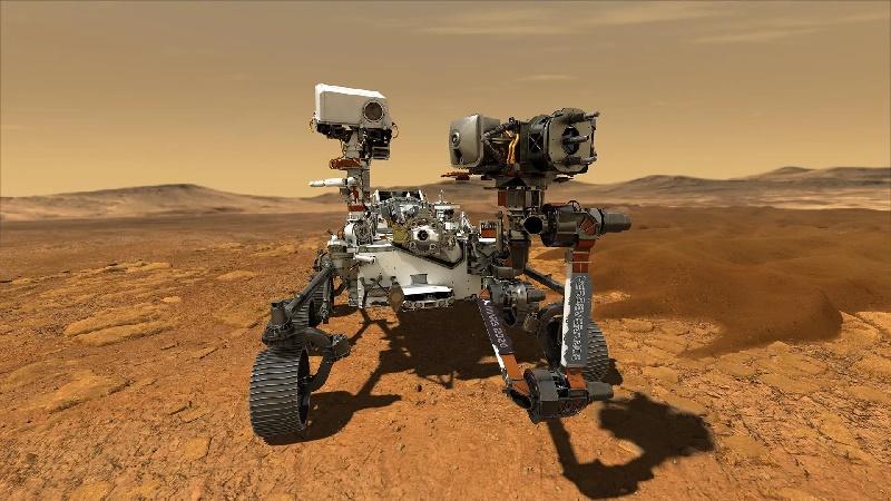 La NASA retransmite en directo el aterrizaje en Marte del rover Perseverance