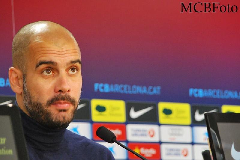 """Guardiola: """"En el segundo tiempo los asfixiamos"""""""