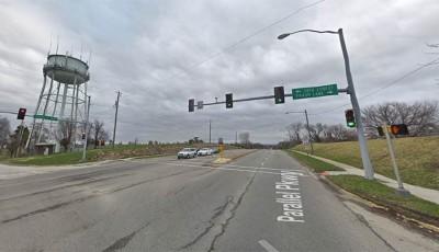 accidente cerca de North 38th y Parallel Parkway