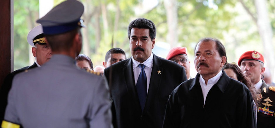 presión a Daniel Ortega