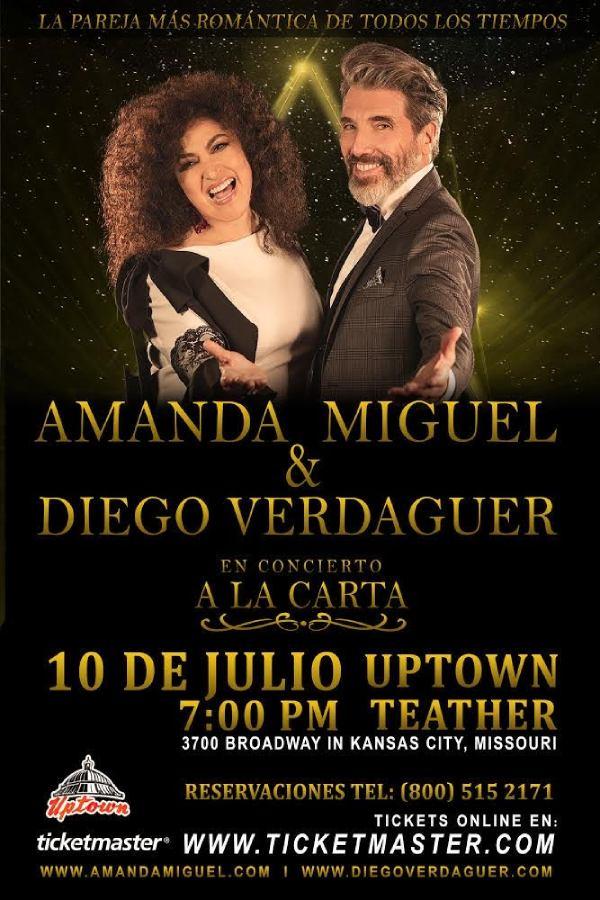 Amanda Miguel Y Diego Verdaguer en Concierto