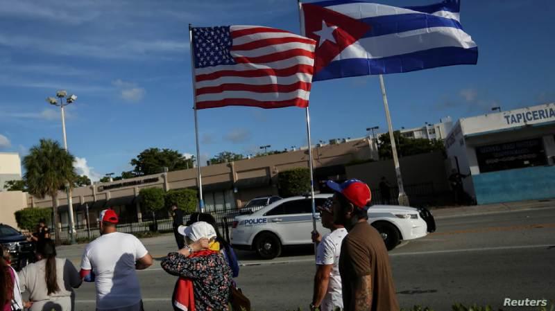 protestas masivas en Cuba
