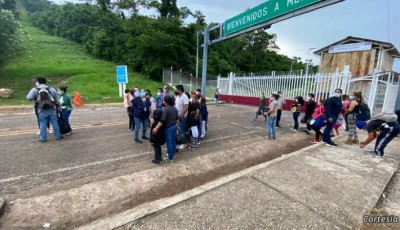 frontera guatemalteca