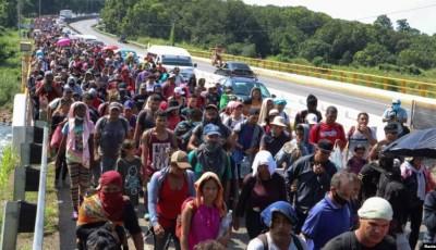 nueva caravana de migrantes
